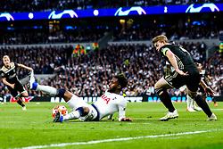 Danny Rose of Tottenham Hotspur controls the ball - Mandatory by-line: Robbie Stephenson/JMP - 30/04/2019 - FOOTBALL - Tottenham Hotspur Stadium - London, England - Tottenham Hotspur v Ajax - UEFA Champions League Semi-Final 1st Leg