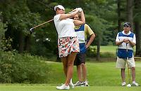 Kylene Pulley during LPGA Futures Tour Saturday, July 23rd.  (Karen Bobotas/for the Concord Monitor)