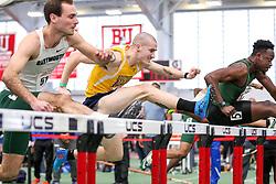 60 meter hurdles, SMU, Jared Marshall<br /> BU John Terrier Classic <br /> Indoor Track & Field Meet <br /> day 2