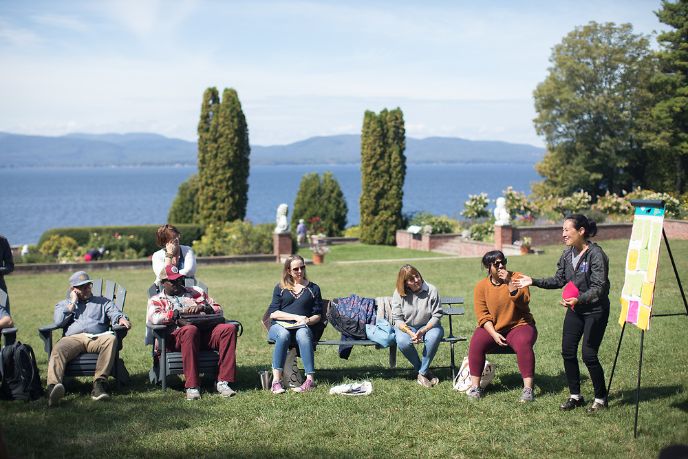 Shelburne, VT - September 10, 2019: The last day of the Chefs Boot Camp for Policy and Change hosted by the James Beard Foundation at Shelburne Farms.<br /> <br /> Photos by Clay Williams for The James Beard Foundation.<br /> <br /> © Clay Williams / claywilliamsphoto.com