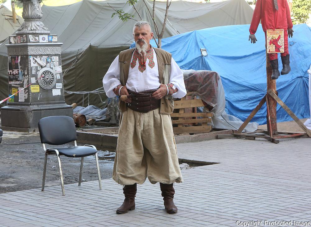 Ukraine Diary: Bohdan Warchomij Khrestiatik  Kyiv as war museum. The legacy of the Ukrainian Revolution. <br /> Photo Bohdan Warchomij