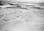 "Ackroyd 00070-02. ""Hillsboro Airport aerial. August 15, 1947 (5x7"")"