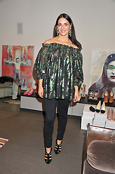 CARMEN HAID at a private sales evening for Atelier Mayer held at 18 Horbury Crescent, London W11 on 22nd November 2011.