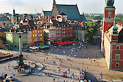 Old Town Square. Warsaw, Poland.