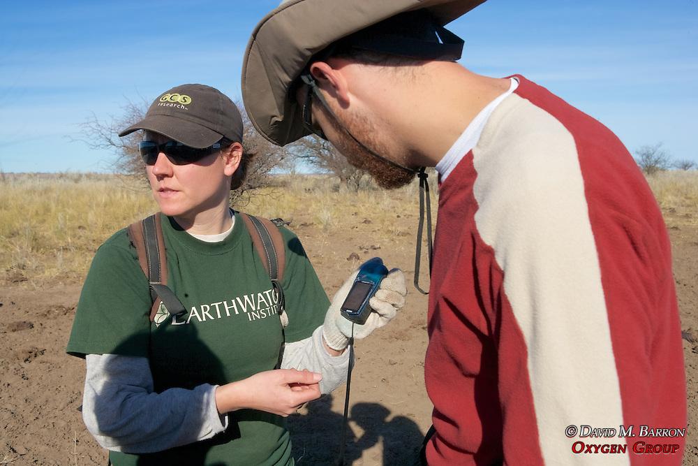 Claudia and Greg Reading GPS