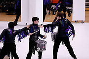 Shadow Indoor Percussion and Shadow Winterguard perform in Oregon, Wisconsin on February 24, 2019. <br /> <br /> Beth Skogen Photography - www.bethskogen.com