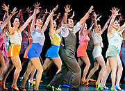 """The ensemble performs """"Audition"""" in """"42nd Street"""" at the Hanover Theatre for the Performing Arts on Friday, Feb. 19, 2016."""