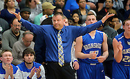 Lorain vs Brunswick boys varsity basketball on March 11, 2015. Images © David Richard and may not be copied, posted, published or printed without permission.