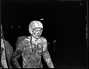 """Football, Grand vs Astoial. Published 12/1/1951 pg. 15.""""Jerry Seagren, rugged Astoria tackle, was an unhappy Fisherman after his team lost to Grant Friday night."""""""