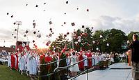 (Karen Bobotas/for the Laconia Daily Sun)Laconia High School Graduation Friday, June 10, 2011.