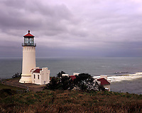 North Head Lighthouse Fort Canby State Park Washington USA