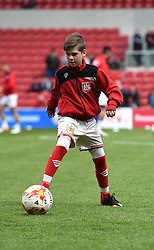Mascot at Ashton Gate Stadium for the Sky Bet Championship game between Bristol City and Huddersfield Town on 1 May 2016 in Bristol, England - Mandatory by-line: Paul Knight/JMP - 30/04/2016 - FOOTBALL - Ashton Gate Stadium - Bristol, England - Bristol City v Huddersfield Town - Sky Bet Championship