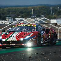 #51, Ferrari 488 GTE Evo, AF Corse, drivers: A. Pier Guidi, J. Calado, D. Serra, GTE Pro, Le Mans 24H 2020, on 20/09/2020