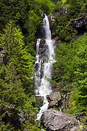 Ketchum Creek Falls at North Cascades National Park in Washington State, USA