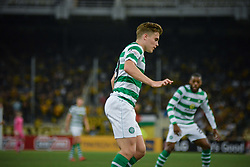 August 14, 2018 - Athens, Greece - Forrest James of Celtic during   the UEFA Champions League 3rd Qualifying round second  leg match AEK FC  vs Celtic FC at the Olympic Stadium of Athens , on 14 August 2018. (Credit Image: © Giannis Alexopoulos/NurPhoto via ZUMA Press)