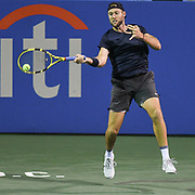 Jack Sock at the 2021 Citi Open. Photo by Kyle Gustafson
