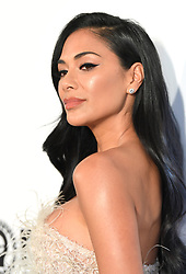 Nicole Scherzinger attending the Elton John AIDS Foundation Viewing Party held at West Hollywood Park, Los Angeles, California, USA.