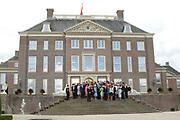 His highness prince Pieter-Christiaan of Oranje Nassau, of Vollenhoven and Ms drs. A.T. van Eijk get married Thursday 25 augusts in Palace the Loo in apeldoorn.<br /> <br /> <br /> Zijne Hoogheid Prins Pieter-Christiaan van Oranje-Nassau, van Vollenhoven en mevrouw drs. A.T. van Eijk treden donderdag 25 augustus in Paleis Het Loo te Apeldoorn in het huwelijk. <br /> <br /> On the photo/Op de foto:<br /> <br /> <br /> Groepsfoto / Groupphoto