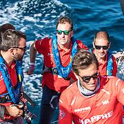 Leg 01, Alicante, Practice Race on board MAPFRE. Photo by Ugo Fonolla/Volvo Ocean Race. 13 October, 2017