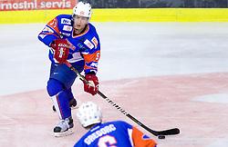 Mitja Robar of Slovenia during friendly ice-hockey match between National teams of Slovenia and Kazakhstan, on April 12, 2011 at Hala Tivoli, Ljubljana, Slovenia. Kazakhstan defeated Slovenia 3-0.  (Photo By Vid Ponikvar / Sportida.com)
