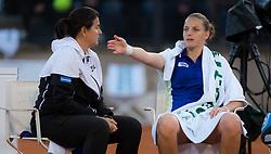 May 16, 2019 - Rome, SPAIN - Sofia Kenin of the United States listens to coach Conchita Martinez during her third-round match at the 2019 Internazionali BNL d'Italia WTA Premier 5 tennis tournament (Credit Image: © AFP7 via ZUMA Wire)