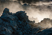 Leirhnjúkur lava field, Iceland