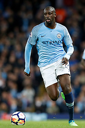 Manchester City's Yaya Toure during the Premier League match at the Etihad Stadium, Manchester