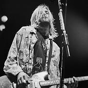 PENNSYLVANIA - NOVEMBER 9: Kurt Cobain of Nirvana performs on November 9, 1993 in Bethlehem, Pennsylvania. ©Lisa Lake