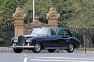 1967 Rolls Royce Phantom V.Government House Gates .For Bonhams Auction Catalogue.Melbourne, Victoria, Australia.8th September 2011.(C) Joel Strickland Photographics.Use information: This image is intended for Editorial use only (e.g. news or commentary, print or electronic). Any commercial or promotional use requires additional clearance.