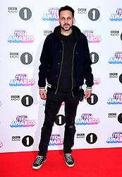 Dynamo aka Steven Frayne attending BBC Radio 1's Teen Awards, at the SSE Arena, Wembley, London.