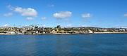 Corona del Mar, California Seen from West Jetty View Park on the Balboa Peninsula