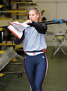Caversham, Great Britain, Sarah WINCKLESS, GB Rowing media day at the Redgrave Pinsent Rowing Lake. GB Rowing Training centre. Wed. 20.04.2008  [Mandatory Credit. Peter Spurrier/Intersport Images]