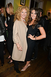 Left to right, KELLY HOPPEN and her daughter NATASHA CORRETT at a party to celebrate the publication of 'Honestly Healthy For Life' by Natasha Corrett held at Bumpkin, 209 Westbourne Park Road, London on 26th March 2014.