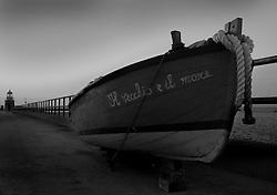 Barca sul molo
