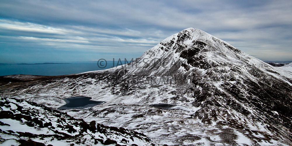 Beinn an Oir viewed from the upper slopes of Beinn a Chaolais