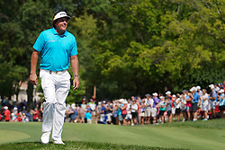 August 10, 2018 - St. Louis, Missouri, United States - Phil Mickelson walks off the 9th green during the second round of the 100th PGA Championship at Bellerive Country Club. (Credit Image: © Debby Wong via ZUMA Wire)