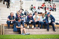 Charlotte Dujardin, Dean Wyatt-Golding - Individual Test Grade Ia Para Dressage - Alltech FEI World Equestrian Games™ 2014 - Normandy, France.<br /> © Hippo Foto Team - Jon Stroud <br /> 25/06/14