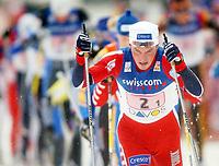 Langrenn, 14. desember 2003, verdenscup Davos, stafett,  Anders Aukland (NOR) . <br /> Foto:Andy Mueller/Digitalsport
