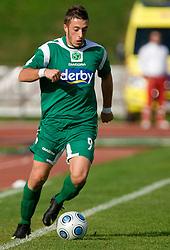Agim Ibraimi of Olimpija at 13th Round of Prva Liga football match between NK Olimpija and Maribor, on October 17, 2009, in ZAK Stadium, Ljubljana. Maribor won 1:0. (Photo by Vid Ponikvar / Sportida)
