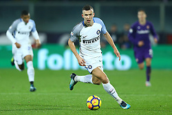 January 5, 2018 - Florence, Italy - Ivan Perisic of Internazionale  during the serie A match between ACF Fiorentina and FC Internazionale at Stadio Artemio Franchi on January 5, 2018 in Florence, Italy. (Credit Image: © Matteo Ciambelli/NurPhoto via ZUMA Press)