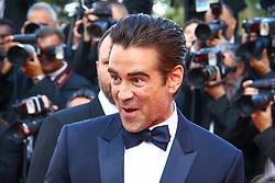 May 23, 2017 - Cannes, Provence-Alpes-Cote-D-Azur, France - Colin Farrell sur le tapis rouge pour la projection du film MISE A MORT DU CERF SACRE lors du soixante-dixième (70ème) Festival du Film à Cannes, Palais des Festivals et des Congres, Cannes, Sud de la France, lundi 22 mai 2017. Philippe FARJON / VISUAL Press Agency (Credit Image: © Visual via ZUMA Press)