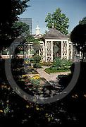Independence National Historic Park, English Garden, Philadelphia, PA