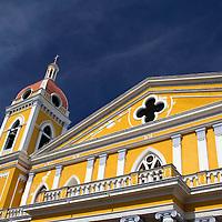 Central America, Nicaragua, Granada. Cathedral of Granada.