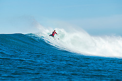 Frederico Morais (PRT) is eliminated from the 2018 Corona Open J-Bay after placing third in Heat 2 of Round 4 at Supertubes, Jeffreys Bay, South Africa.