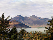 Carrauntoohill Mountain view from Aghadoe, Killarney..Picture by Don MacMonagle