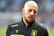 Aston Villa defender Alan Hutton (21) during the The FA Cup 3rd round match between Aston Villa and Swansea City at Villa Park, Birmingham, England on 5 January 2019.