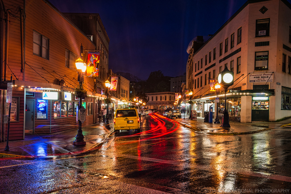 City Centre @ Night, Franklin & Front Streets