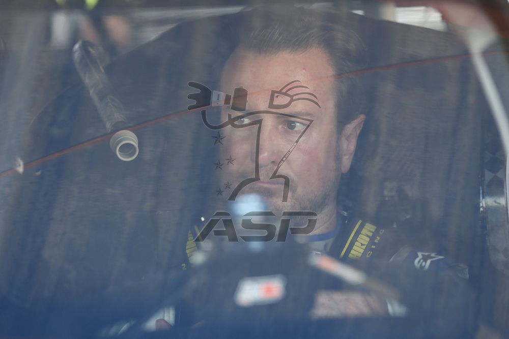 April 28, 2017 - Richmond, Virginia, USA: Kurt Busch (41) hangs out in the garage during practice for the Toyota Owners 400 at Richmond International Speedway in Richmond, Virginia.