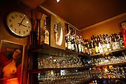 Wednesday November 26th 2008. Paris, France..In a cafe.Rue de la Folie Mericourt - 11th Arrondissement.