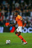 Netherlands forward Quincy Promes (Sevilla) during the UEFA Nations League semi-final match between Netherlands and England at Estadio D. Afonso Henriques, Guimaraes, Portugal on 6 June 2019.